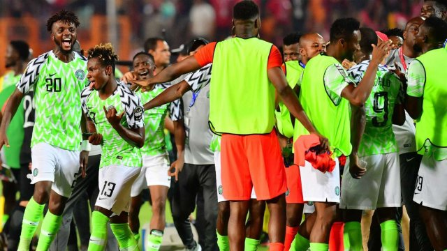 Nigerian Super Eagles Rated Second Youngest National Team In The World