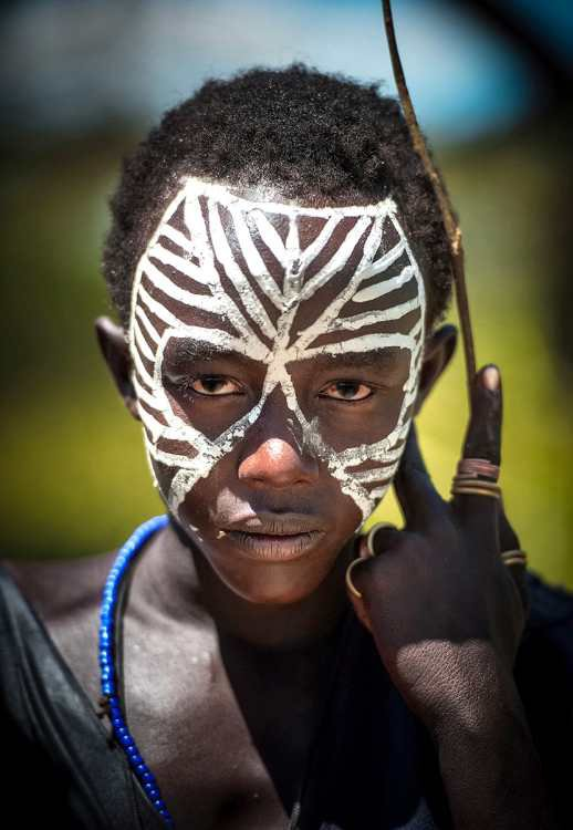 Face Painting in Africa