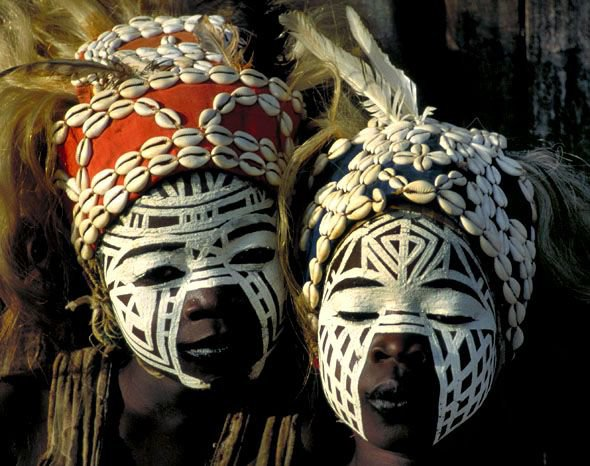African Tribal Body & Face Painting, Significance and Usage