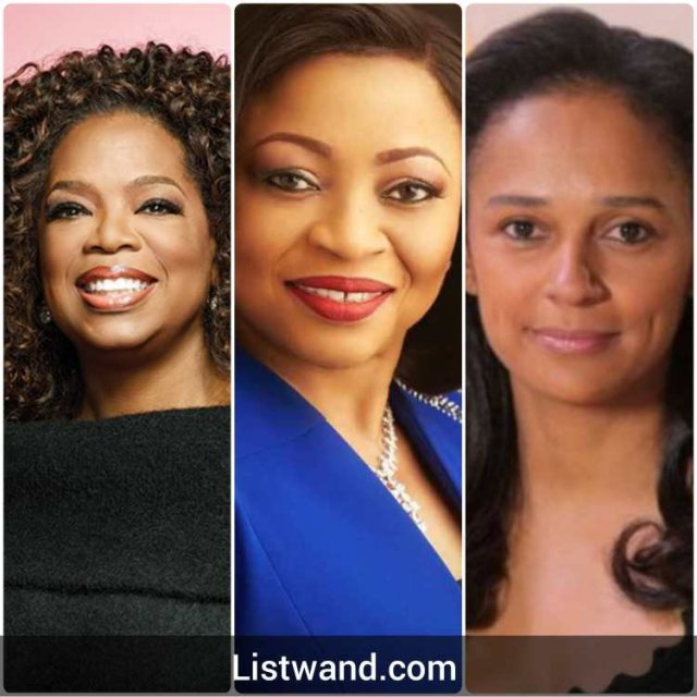 Meet the only three Black Female Billionaires in the World