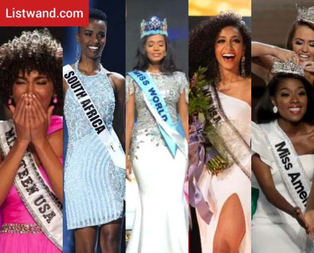 The 5 Major Pageant Winners Are All Black Women for the First Time Ever