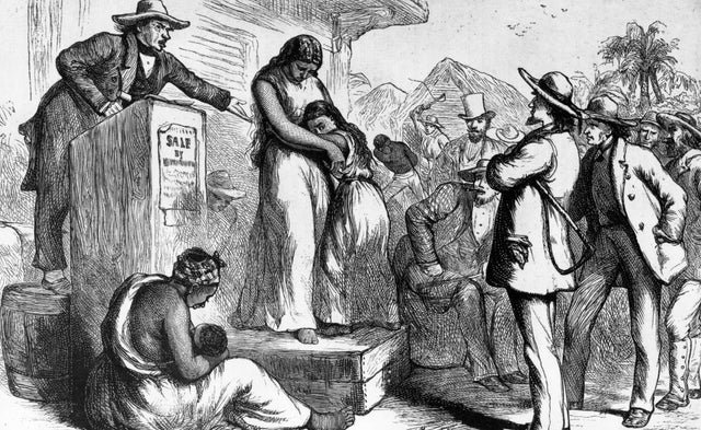 Heartbreak Day: Why slave families were terrified of the New Year's day