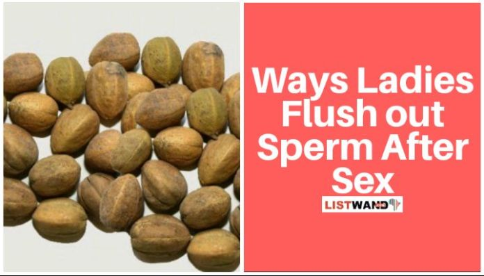 Aworoso seeds used to flush sperm after sex