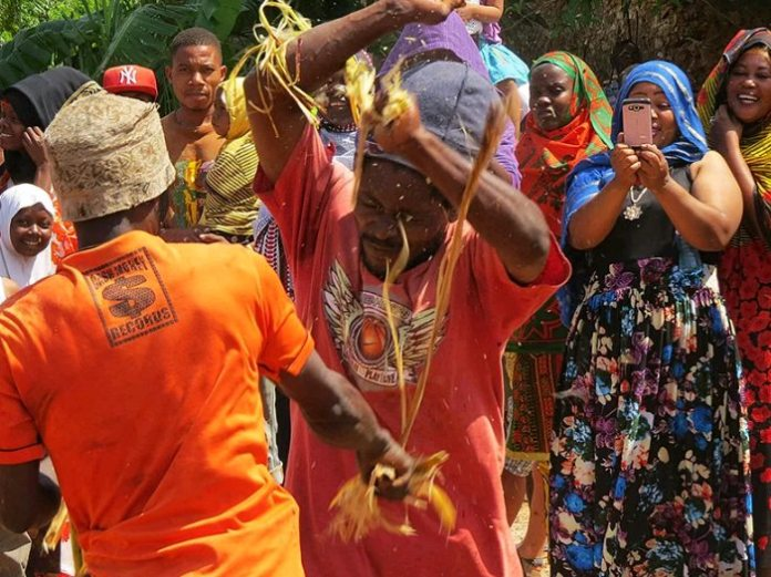 Mwaka Kogwa, the Tanzanian Festival where Men Fight to Settle Grudges of the Previous Year