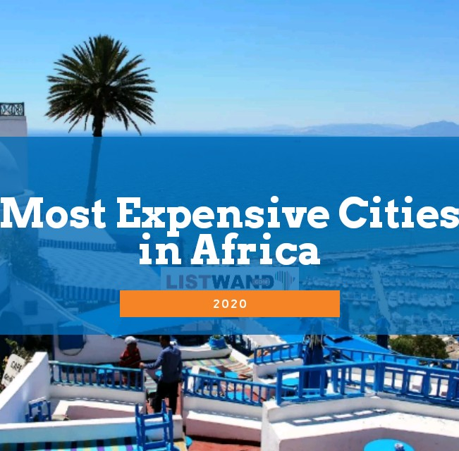 Expensive Cities in Africa