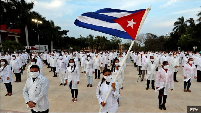 Over 200 Cuban Doctors Land In South Africa To Help Fight Coronavirus