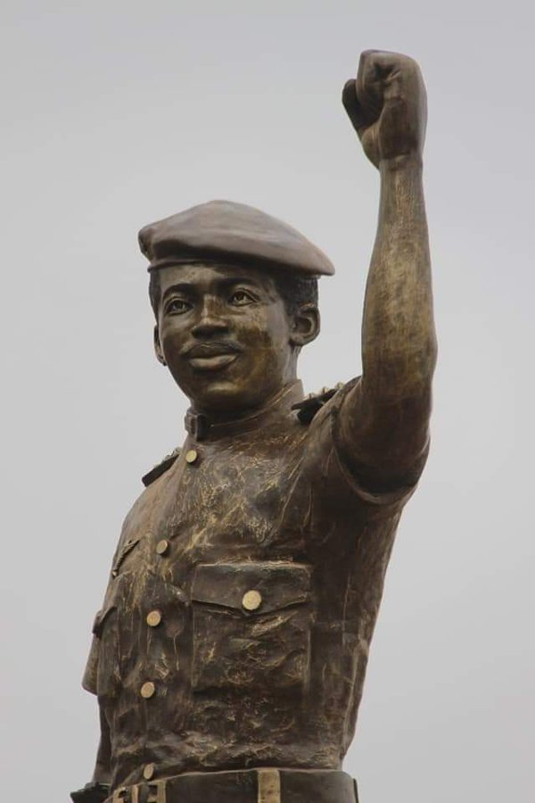 New Thomas Sankara statue unveiled in Ouagadougou