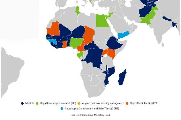 27 Countries in Sub-Saharan Africa Have So Far Received $10B in Assistance from the IMF to Respond To COVID-19