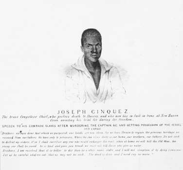 On this day, Joseph cinque led the Amistad slave revolt and won his freedom in a U.S. court in 1841