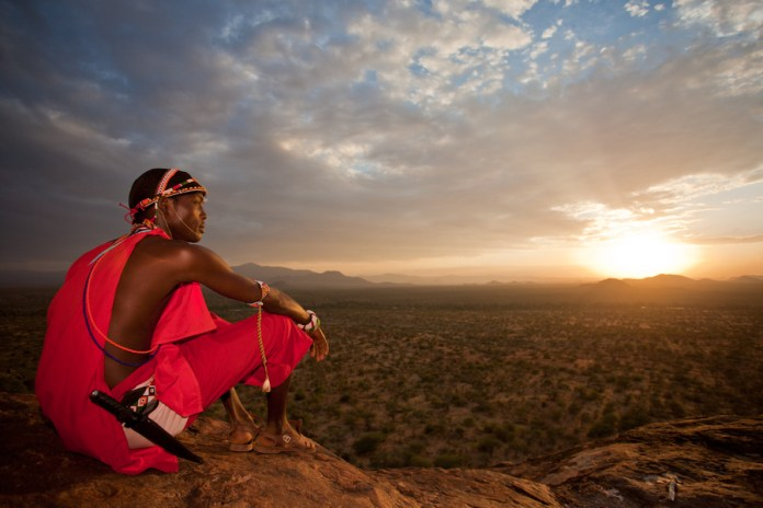 The Samburu are semi-nomadic pastoralists who live in Kenya