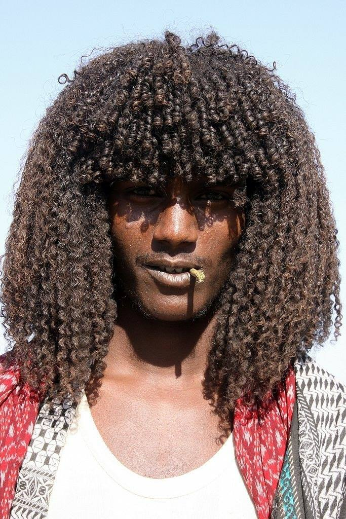 The Ethiopian Tribe Where Men Use Butter to Style Their Hair