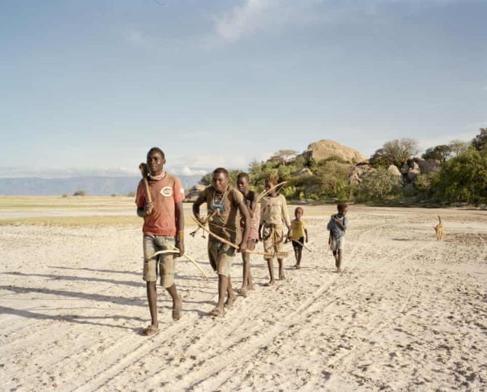 The Tanzanian Tribe That Survive Purely From Hunting and Gathering — In Pictures