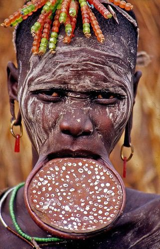 History and Symbolism of the Lip Plate