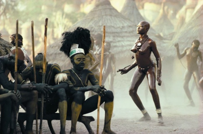 Images of the Nuba Peoples of Sudan taken in the 70's