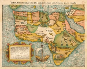 The Earliest Obtainable Map of the Whole Continent of Africa