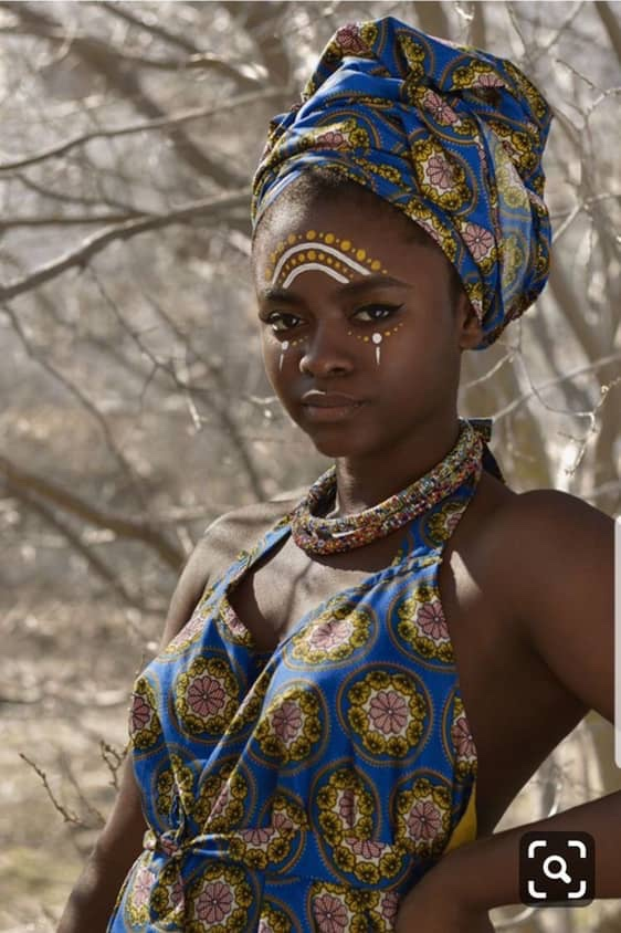 African Tribal Body & Face Painting