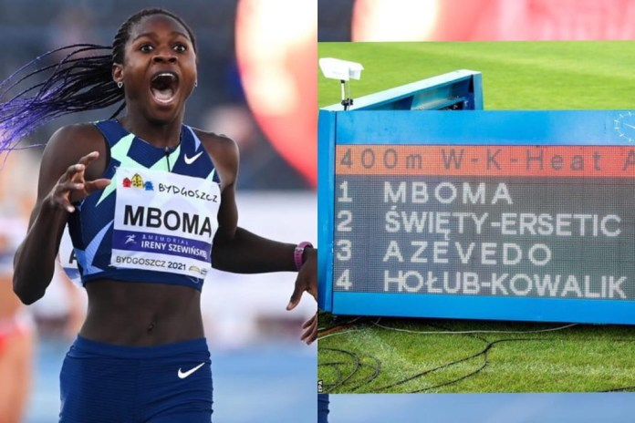 Christine Mboma - The Namibian Teenager Barred From Olympic 400m Over Her High Testosterone Levels