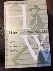Simon & Schuster Handbook for Writers, Second Canadian Edition Hardcover