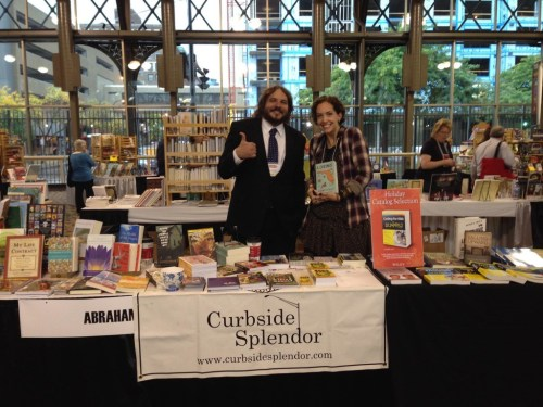 Naomi Huffman with author Brian Costello