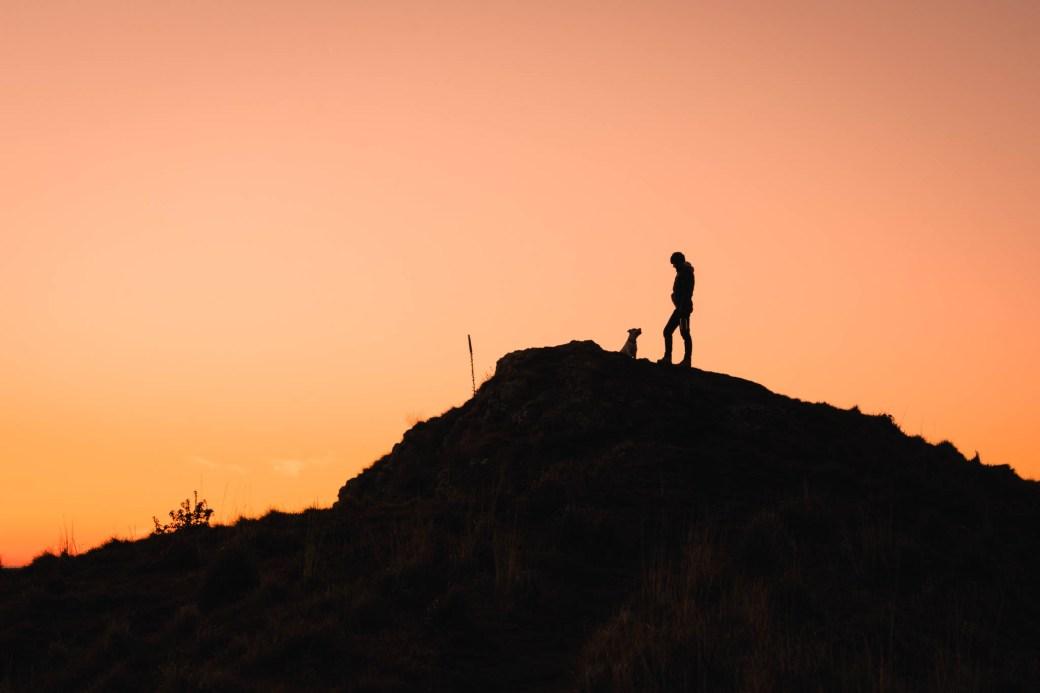 Te mata peak sunset
