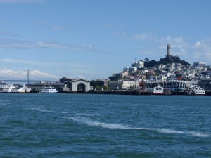 Coit Tower View from Water