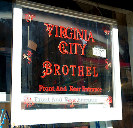 Virginia City Brothel