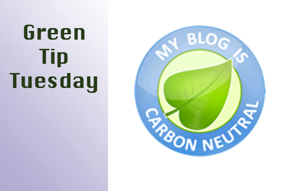 Green Tip Tuesday Carbon free blogging