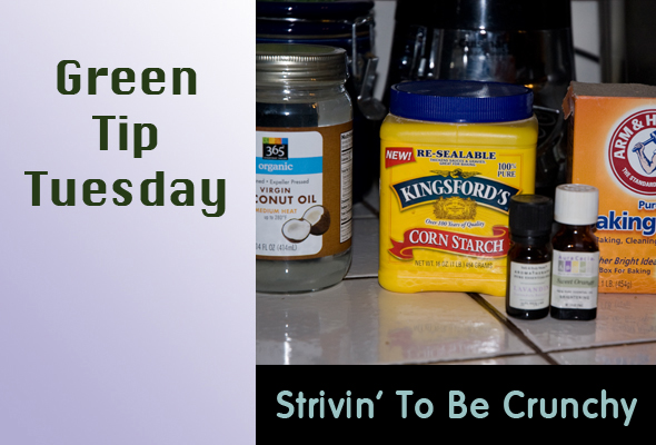 Green Tip Tuesday Strivin' for Crunchiness