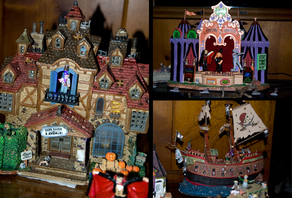 Halloween Village 1
