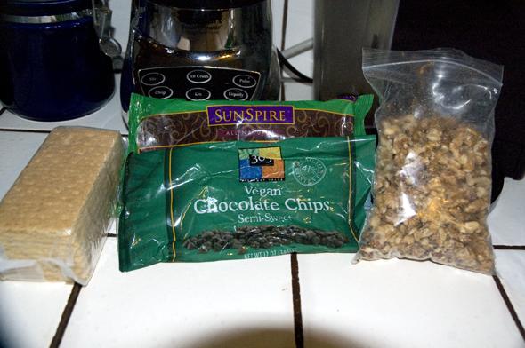 chocolate nut bar ingredients