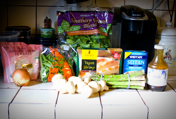 vegan stir-fry ingredients