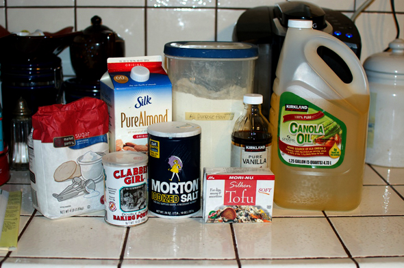 vean poundcake ingredients