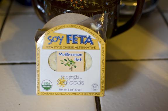 vegan soy feta cheese