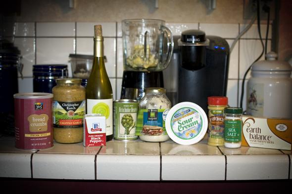 artichoke dip ingredients