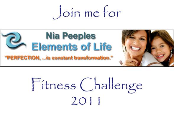Nia's 2011 Fitness Challenge