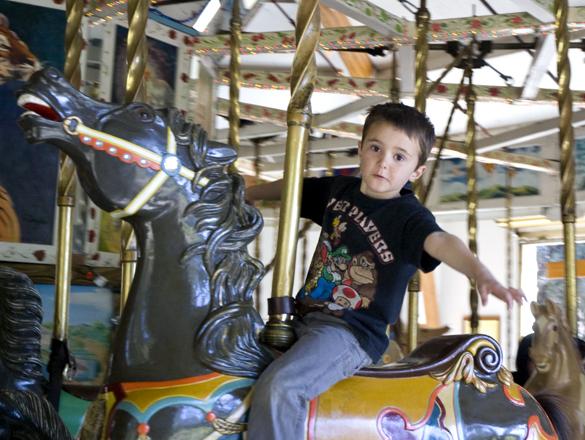 Hunter on Carousel