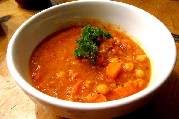 tasty veggie soup