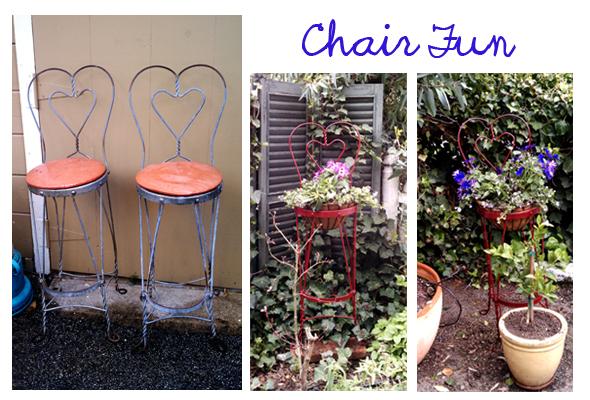garden chair art