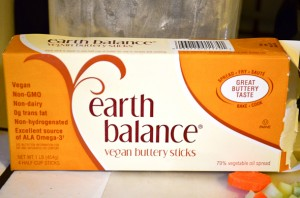 Earth Balance vegan margarine