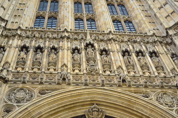 detail on Houses of Parliament