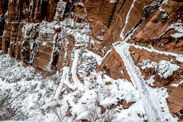 Angel's Landing hike Zion