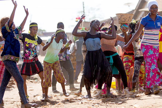 Children Dancing in Katwe