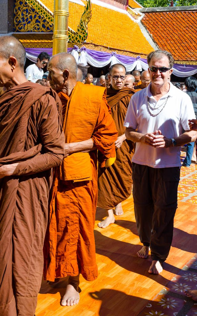 visit to Wat Phra That Doi Suthep