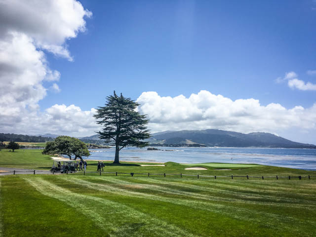 view from Pebble Beach Lodge