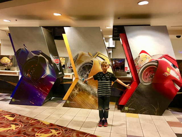 Cars3 Screening with Westly in June