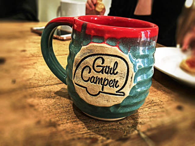 Girl Camper Mug