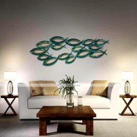 BellabelloMetal Wall Art Wall Decor, Contemporary Style ...