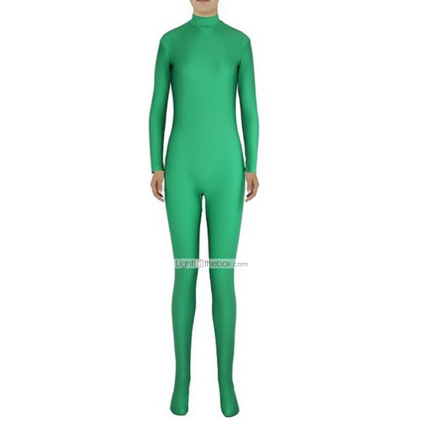 Zentai Suits Morphsuit Ninja Cosplay Costumes Green