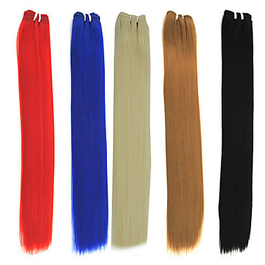 20 inch high quality synthetic straight hair weave hair extension 2017 14 99