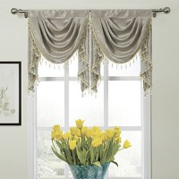 Valance Waterfall Floral , 100% Polyester 986762 2016  $23.99